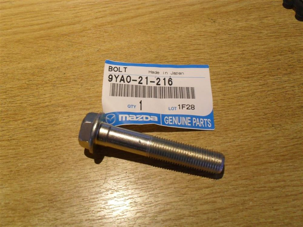 Bolt, cockpit brace bar, Mazda MX-5 mk1 1.8, 93-98 9YA021216